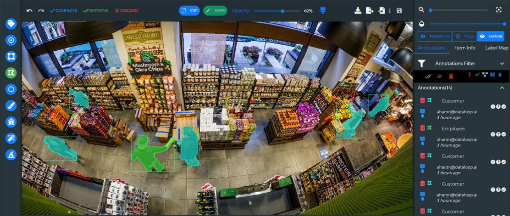 Retail Semantic Segmentation